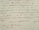Garat vient au secours d'un vieil ami.. Dominique Joseph Garat (1749-1833) Homme politique et littérateur, ministre de la Justice puis de l'Intérieur ...