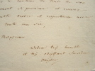 Jakob Heinrich Meister témoigne son admiration.. Jakob Heinrich Meister (1744-1826) Ecrivain suisse, ami de Diderot et des Encyclopédistes, rédacteur ...