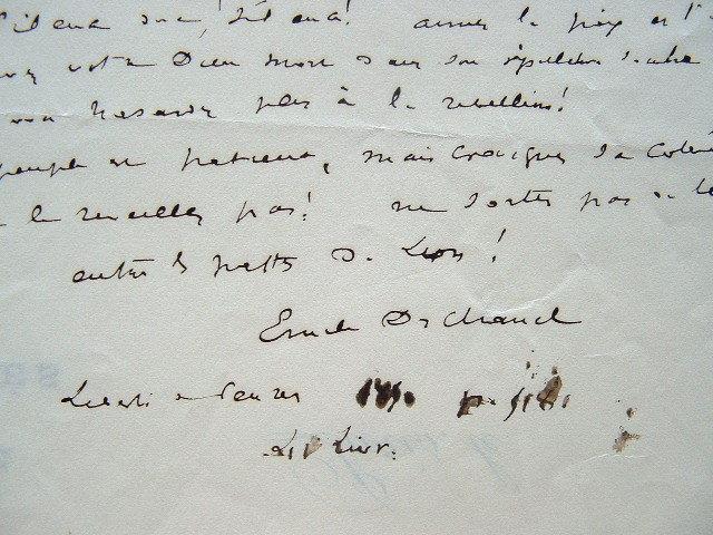 Vers d'Emile Deschanel sur le catholicisme.. Emile Deschanel (1819-1904) Ecrivain et homme politique, biographe, professeur de littérature moderne au ...