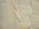 Pontevès-Gien. Trois lettres à Saint-Laurent.. Henri Pontevès-Gien (vicomte de) (1738-1790) Marin, major général de la marine, il s'illustre durant la ...