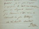Jean-François Ducis accepte une invitation.. Jean-François Ducis (1733-1816) Poète tragique, membre de l'Académie française. Le premier, il monta ...