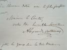 Le ventriloque Alexandre Vattemare de retour des Etats-Unis.. Alexandre Vattemare (1796-1864) Ventriloque ; il consacre une grande partie de sa vie à ...