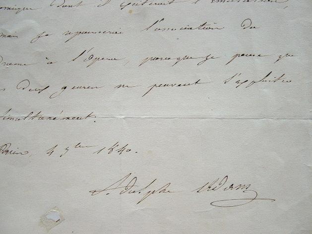 Adolphe Adam favorable à la création d'un théâtre lyrique.. Adolphe Adam (1803-1856) Compositeur, auteur de nombreux opéras, et du ballet Giselle, ...