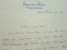 De Constantinople, Paul Cambon se remémore sa vie à Paris.. Paul Cambon (1843-1924) Diplomate et administrateur, ambassadeur à Constantinople et ...