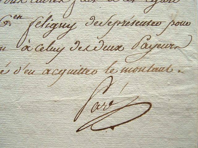 Le ministre de l'Intérieur, Paré, répare une erreur.. Jules François Paré (1755-1819) Ami de Danton, ministre de l'Intérieur (1793).