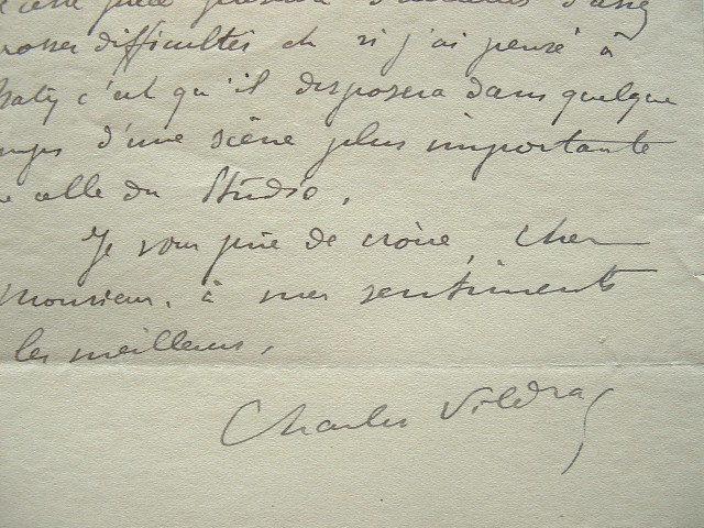 Charles Vildrac cherche à monter sa pièce Jardinier de Samos.. Charles Vildrac (1882-1971) Poète et auteur dramatique, fondateur, avec Georges ...