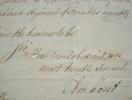 Lord Amherst accepte de baptiser un nouveau régiment écossais.. Jeffery Amherst (Lord) (1717-1797) Maréchal anglais, commandant les troupes anglaises ...