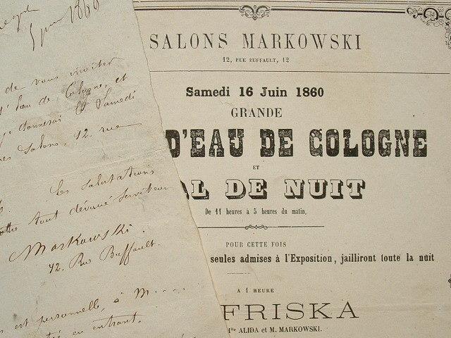 Bal de nuit aux Salons Markowski..