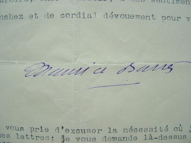 Maurice Barrès rend hommage à l'héroïsme des soldats.. Maurice Barrès (1862-1923) Homme politique et écrivain.