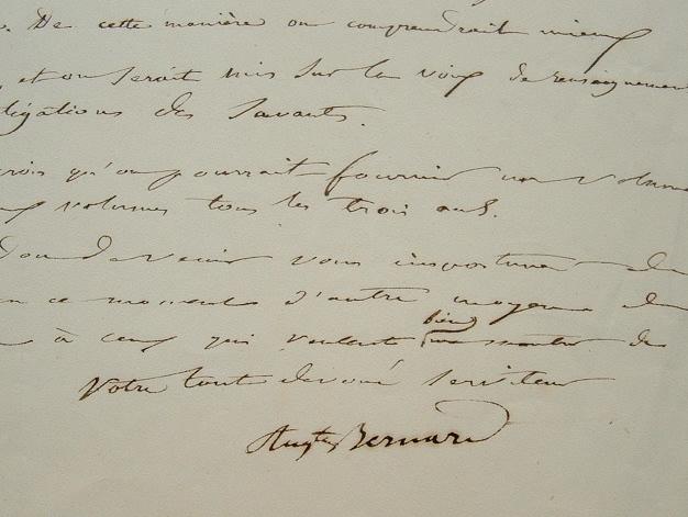 Le projet monumental de l'historien forézien Auguste Bernard.. Auguste Bernard (1811-1868) Erudit, historien du Forez.