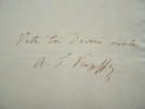 Lettre du minéralogiste russe Kupffer à Poisson.. Théodore Kupffer (de) (1799-1865) Minéralogiste et chimiste russe, chargé par le gouvernement russe ...