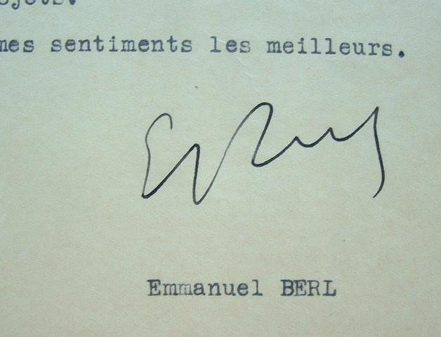 Emmanuel Berl fait paraître ses études sur l'aéronautique.. Emmanuel Berl (1892-1976) Journaliste, historien et essayiste, Grand prix de la ...