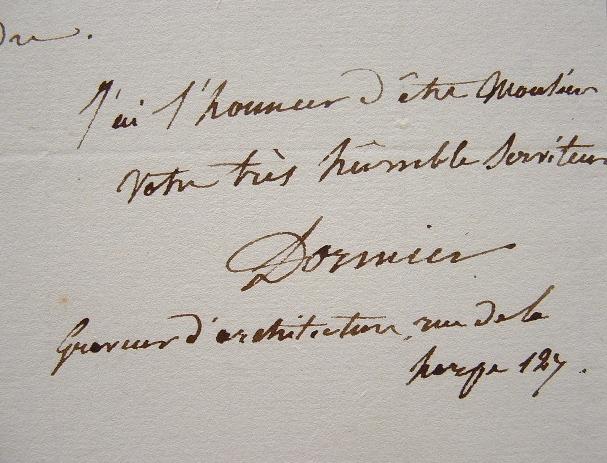 Le graveur Dormier suspend son abonnement.. Alexandre Charles Dormier (1788-) Graveur, il a surtout gravé des sujets d'architecture, en particulier ...