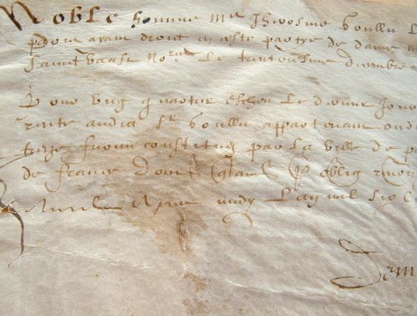 Jérôme Goulu, lecteur ordinaire du roi Henri IV, reçoit une rente.. Jérôme Goulu (1581-1630) Phililogue et helléniste, érudit, docteur en médecine, ...