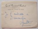 Quelques baisers d'une danseuse étoile, Lycette Darsonval.. Lycette Darsonval-Humbert (1912-1996) Danseuse étoile (1940), elle dirige le ballet de ...
