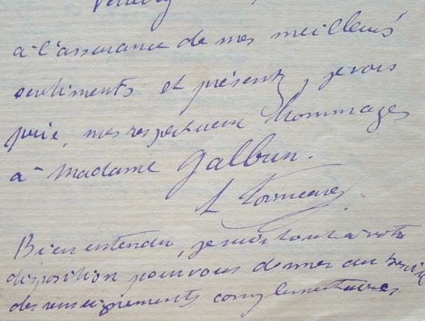 Lucien Poincaré admirateur de Wagner.. Lucien Poincar? (1862-1920) Physicien, frère de Raymond Poincaré et cousin d'Henri, vice-recteur de l'Académie ...
