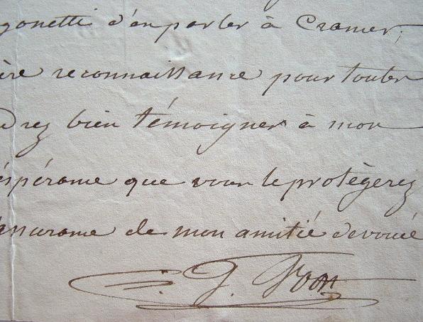 Le hautboïste Gustave Vogt découvre un jeune prodige, Artôt.. Gustave Vogt (1781-1870) Hautboïste et compositeur, hautbois solo de l'orchestre privé ...