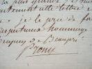 Prony soutient un confrère de l'Institut.. Gaspard Marie Riche Prony (baron de) (1755-1839) Ingénieur et hydraulicien, membre de la commission du ...