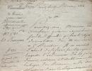 Le chancellier Dambray en désaccord avec le baron Louis.. Charles Henri Dambray (vicomte) (1760-1829) Chancelier de France en 1814, président de la ...