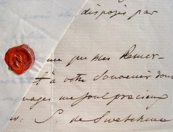 Lecture exquise de Mme Swetchine.. Anne Sophie Soymonov Swetchine (1782-1857) Ecrivain et diariste russe, elle tint un célèbre salon à Paris.