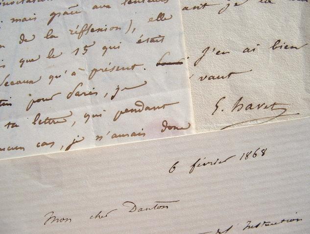 Ernest Havet travaille sur le sérapéum.. Ernest Havet (1813-1889) Historien et érudit, spécialiste de l'histoire religieuse, professeur de rhétorique ...