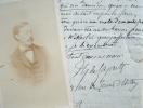 Théodore de Lajarte en froid avec Félix Clément.. Théodore Lajarte (Dufaure de) (1826-1890) Compositeur, musicographe et critique musical.