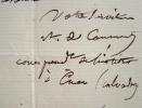 L'archéologue Arcisse de Caumont propose un échange de publications.. Arcisse Caumont (de) (1802-1873) Archéologue, fondateur de la Société linéenne ...