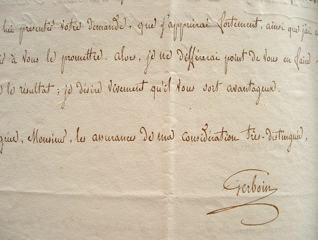 Le professeur Gerboin en mauvaise santé.. Antoine Claude Gerboin (1758-1827) Médecin, titulaire de la chaire de matière médicale et de pharmacie à ...