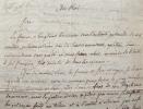 Les magistrats de Poitiers acclament Louis XVIII..