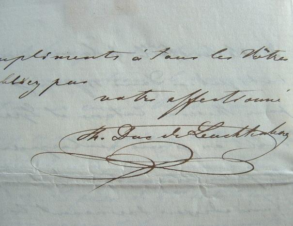 Le duc de Leuchtenberg soucieux du sort des paysans russes.. Maximilien Leuchtenberg (duc de) (1817-1852) Fils d'Eugène de Beauharnais, gendre du tsar ...