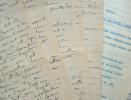 Manuscrits d'un pionnier de la chirurgie esthétique, Max Leydier..