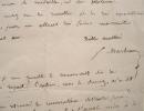 Le philanthrope Firmin Marbeau détenteur d'un manuscrit secret.. Firmin Marbeau (1798-1875) Philanthrope, fondateur de la première crèche.