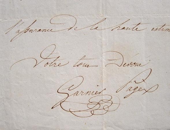 Lettre ouverte de Garnier-Pagès aux patriotes lyonnais.. Etienne Garnier-Pagès (1801-1841) Homme politique d'extrême-gauche, républicain et ...