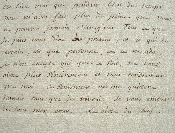 L'amitié sans faille de La Porte du Theil pour Pougens.. François Jean Gabriel La Porte du Theil (1742-1815) Helléniste, membre de l'Académie des ...