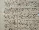 Document du XVe siècle sur Beaulieu-sur-Mer..