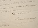 Le nouveau maire de Paris, Armand Marrast, traite une affaire.. Armand Marrast (1801-1852) Journaliste et homme politique, l'un des principaux acteurs ...