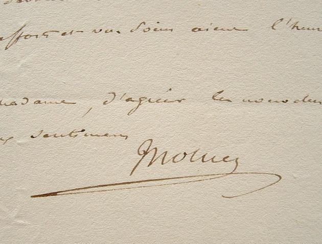 L'ancien ministre de Napoléon, Mollien, nommé pair de France.. Nicolas François Mollien (comte) (1758-1850) Ministre du Trésor public (Finances) de ...
