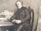 Portrait d'Alexandre Dumas fils par Meissonier.. Alexandre Dumas (fils) (1824-1895) Fils naturel d'Alexandre Dumas, auteur de la Dame aux camélias ...