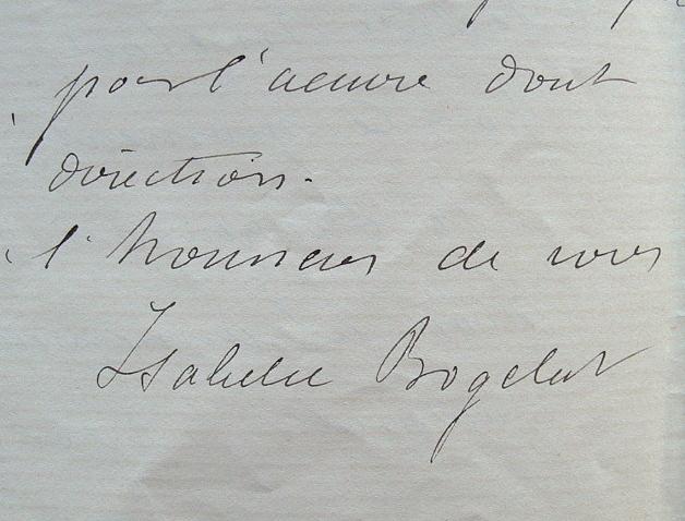 Isabelle Bogelot, une philanthrope toute dévouée à son oeuvre.. Isabelle Bogelot (1838-0) Philanthrope protestante, directrice de l'Oeuvre des ...