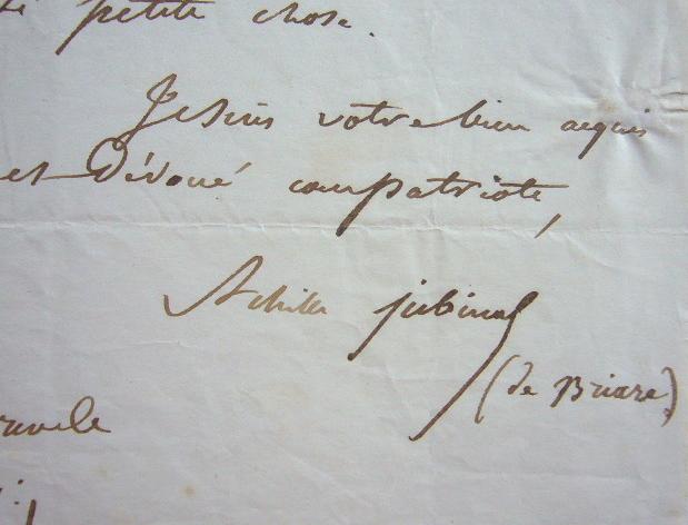Achille Jubinal réclame une sous-préfecture.. Achille Jubinal (1810-1875) Erudit, député des Hautes-Pyrénées, fondateur de la Société académique de ce ...
