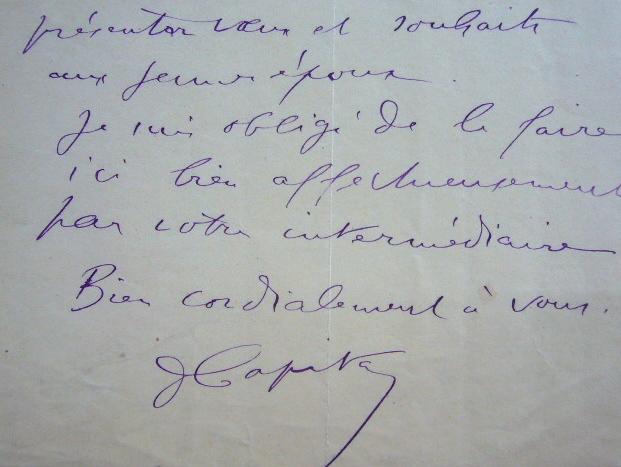 Le préhistorien Louis Capitan se confond en excuses.. Louis Capitan (1854-1929) Préhistorien, anthropologue, il participe à la fouille de nombreux ...