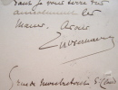 Verhaeren organise une rencontre avec Jouas.. Emile Verhaeren (1855-1916) Poète symboliste belge.