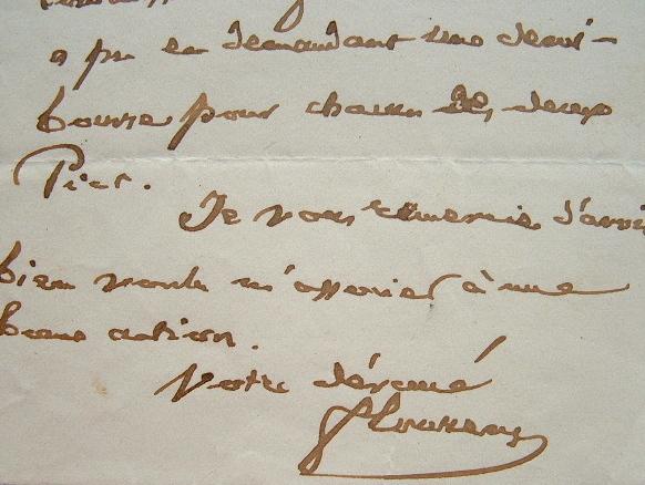 Flourens associé à une bonne action.. Marie Jean Pierre Flourens (1794-1867) Physiologiste, membre (1828) puis secrétaire perpétuel de l'Académie de ...