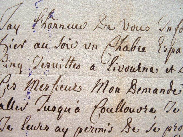 Les Jésuites chassés d'Espagne et indésirables en France..