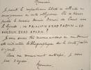 Le numismate Raymond Serrure se renseigne sur une monnaie danoise.. Raymond Serrure (1862-1899) Numismate et expert en monnaies anciennes ; bien que ...