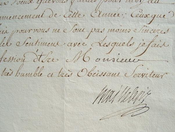 Les voeux du président de l'Académie des sciences, le marquis de Maillebois.. Yves Marie Desmarets Maillebois (marquis de) (1715-1791) Officier, fils ...