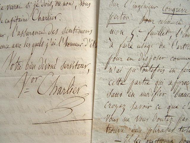 Le mauricien Victor Charlier rédige un article sur Clapperton.. Victor Charlier (1803-1874) Homme politique mauricien, député du Jura.