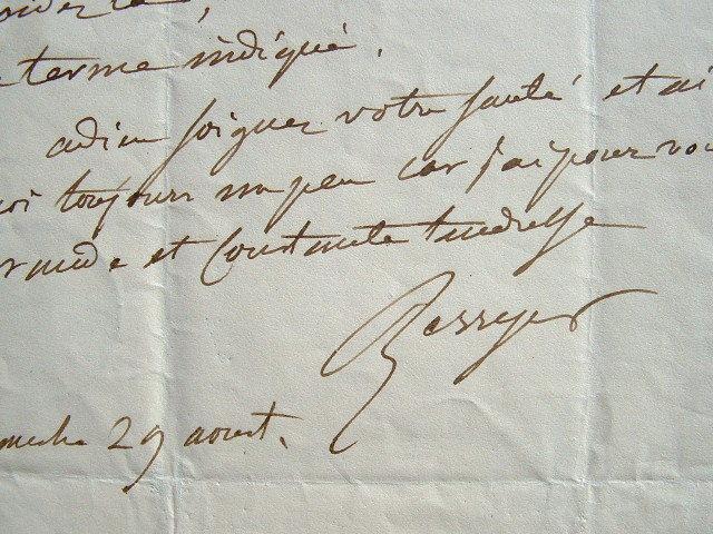 La tendresse de Berryer pour Lamennais.. Pierre Antoine Berryer (1790-1868) L'un des avocats les plus célèbres du XIXe siècle, fidèle légitimiste, ...