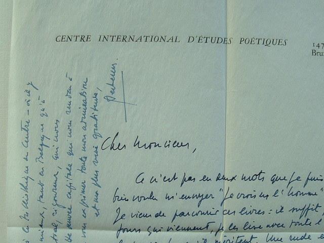Fernand Verhesen loue la poésie espagnole.. Fernand Verhesen (1913-0) Poète belge, traducteur de Garcia Lorca, fondateur du Centre International ...