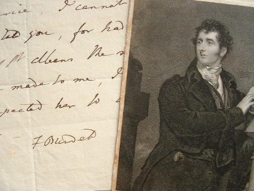 Francis Burdett contraint.. Francis Burdett (sir) (1770-1844) Homme politique réformiste anglais